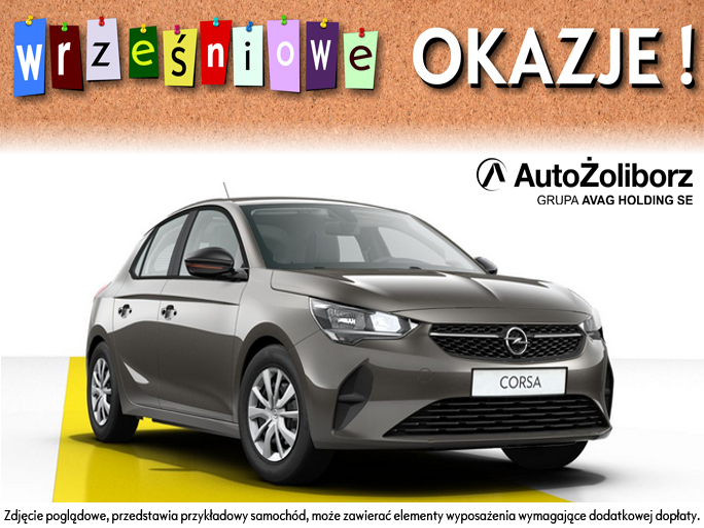 Opel Corsa Edition 100KM M6