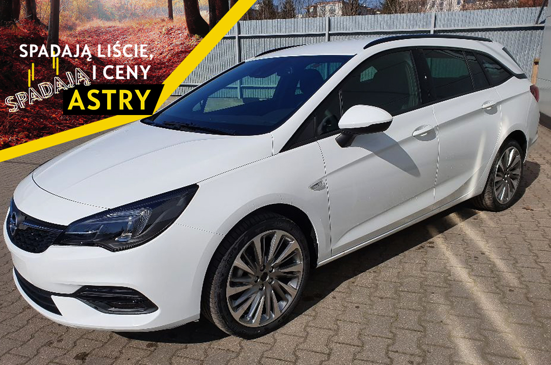 Opel Astra Sports Tourer GS Line, 1.2 130 KM MT6 Start/Stop