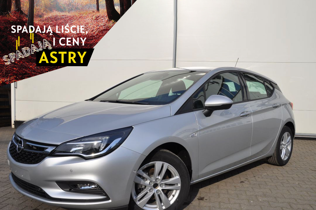 Opel Astra K Hatchback Edition, 1.2 Turbo 81 kW / 110 KM Start/Stop
