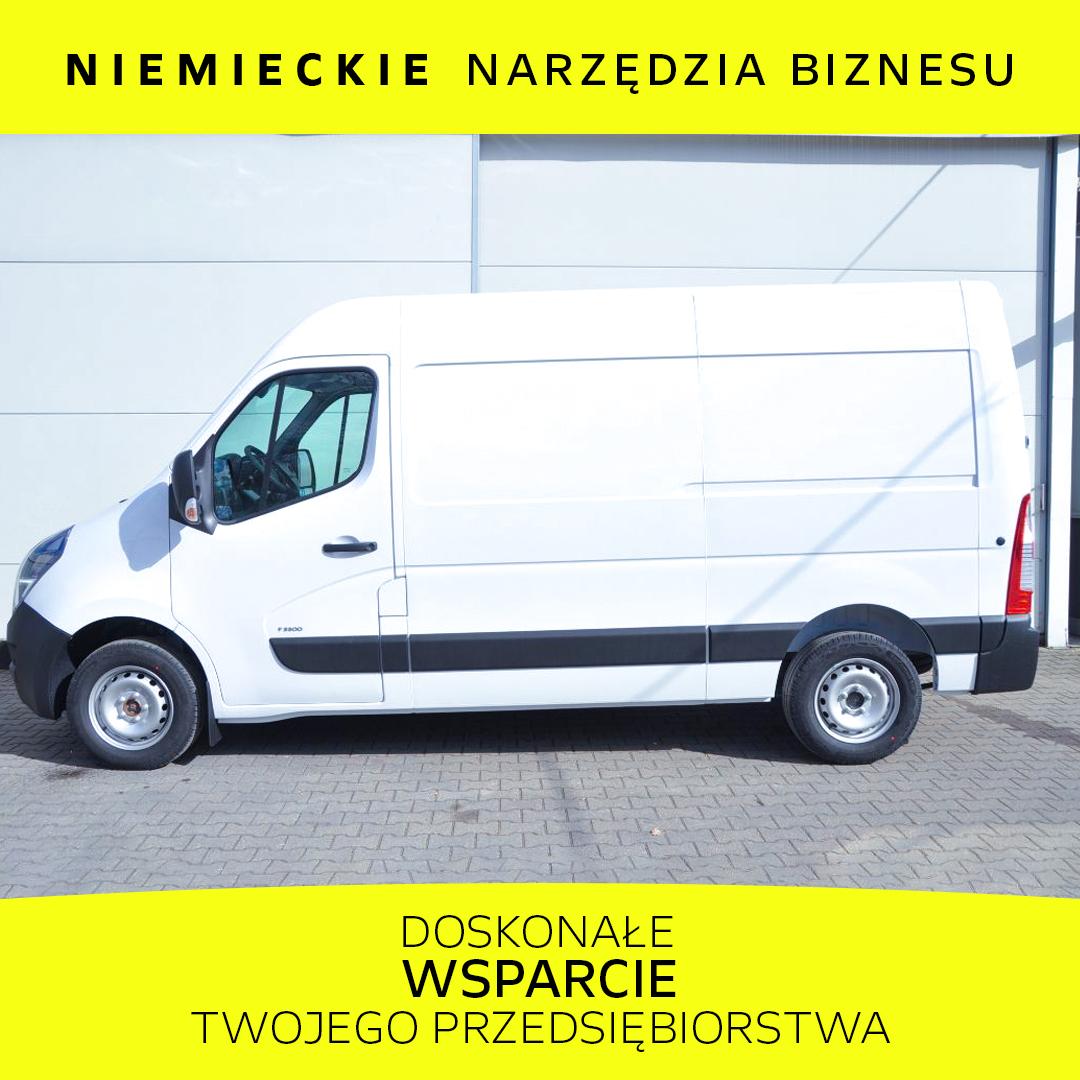 Opel Movano Furgon FWD 2.3 BiTurbo 136KM Euro6d-temp
