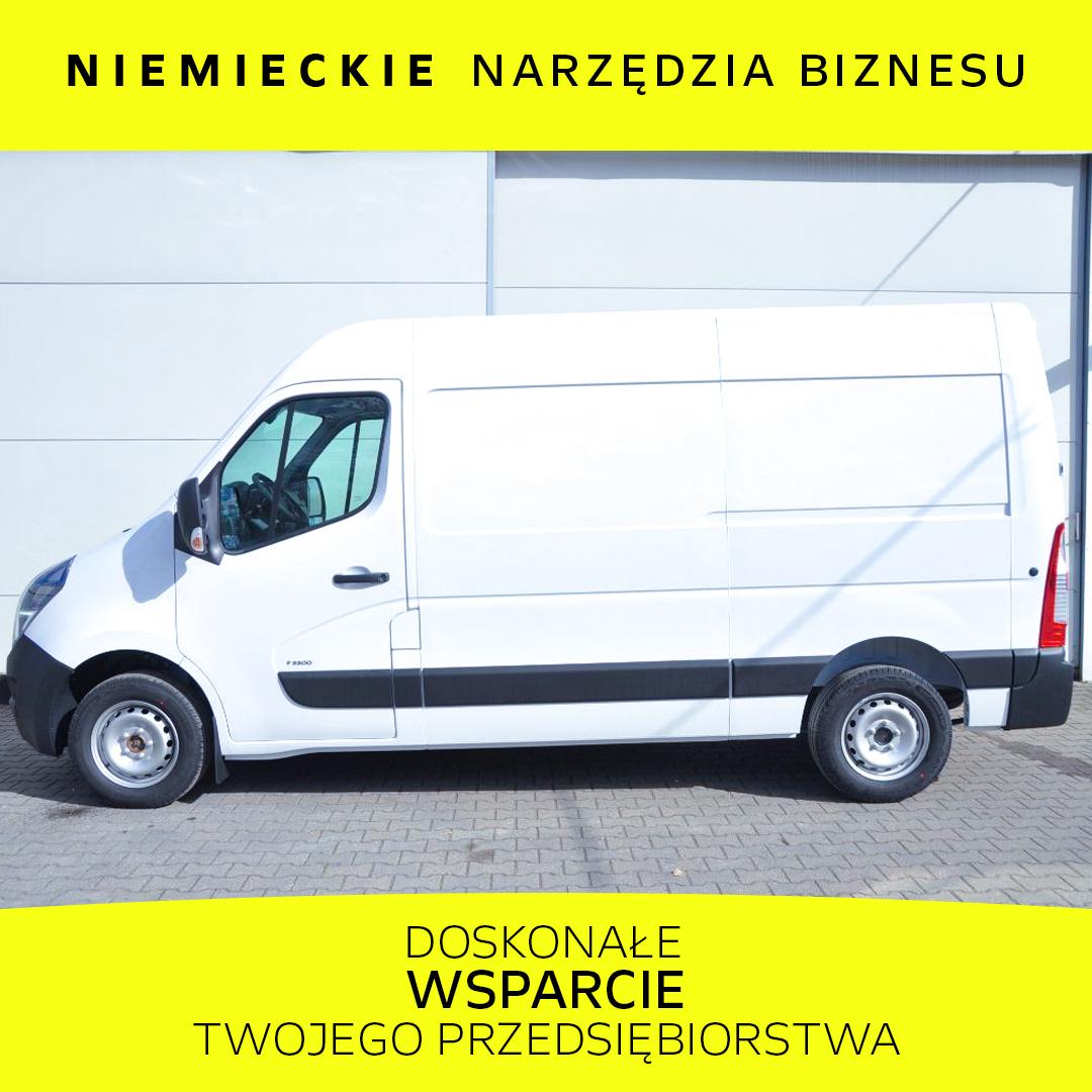 Opel Movano 2.3 BiTurbo 180KM MT6 S&S L2H2