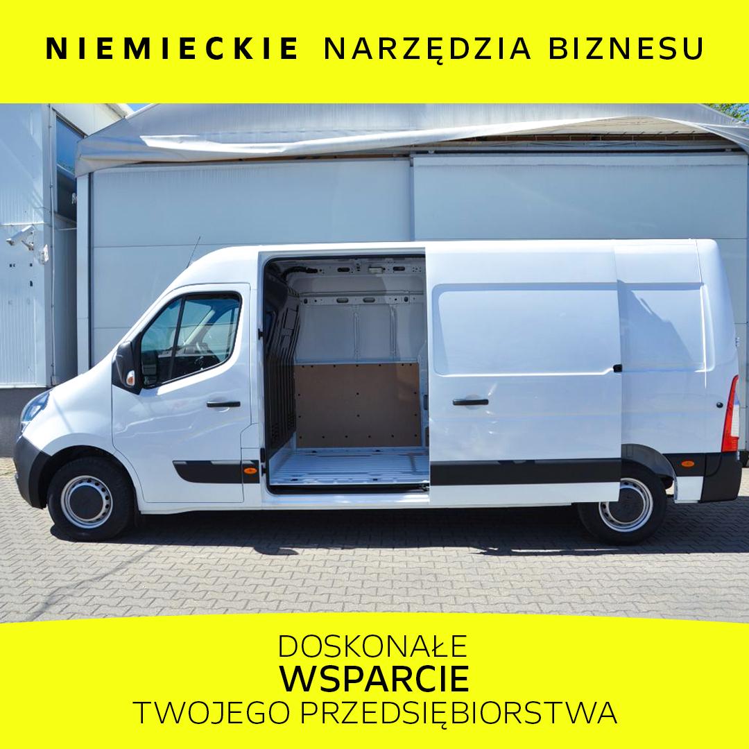 Opel Movano 2.3 BiTurbo 136KM Euro6d-temp DRL MT6