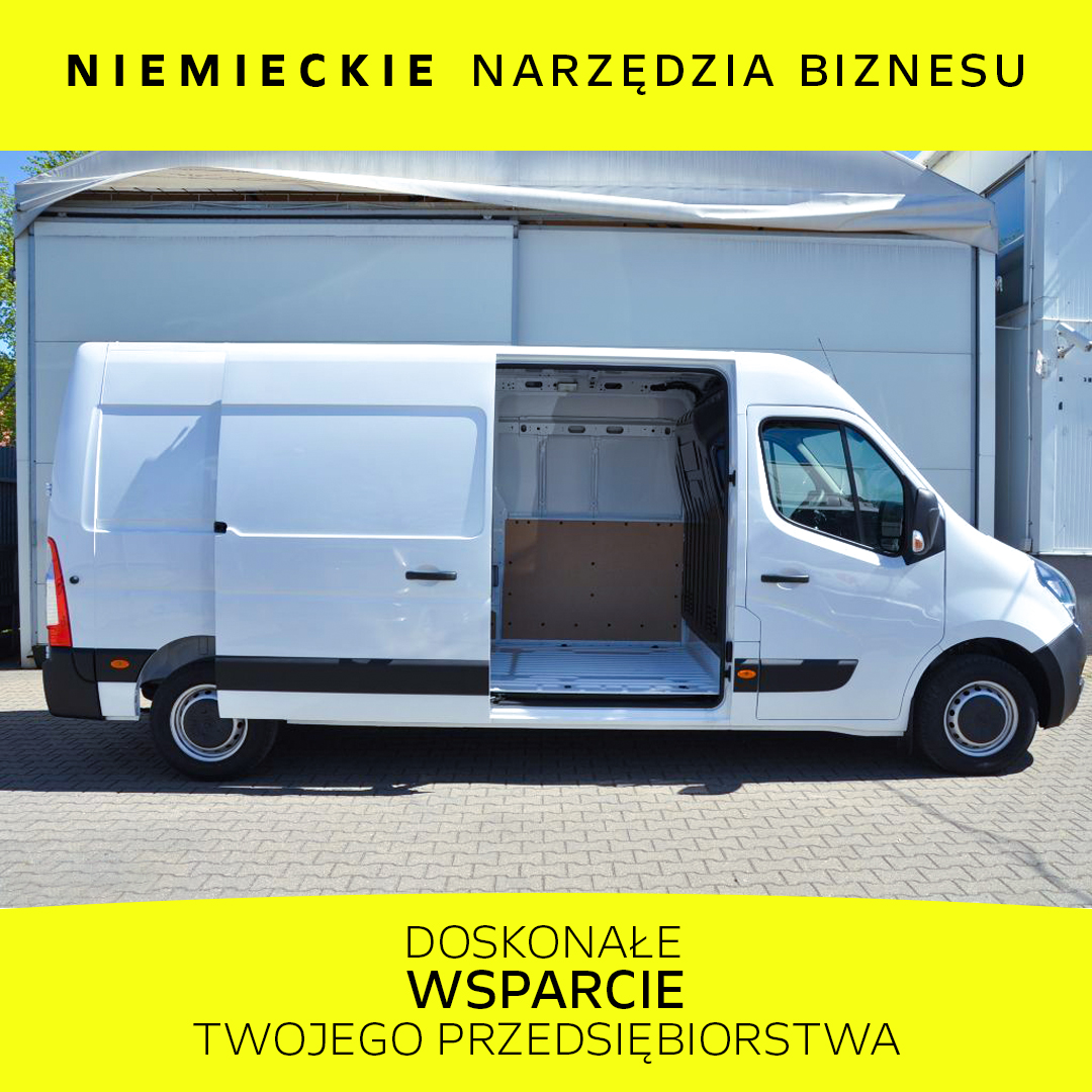Opel Movano FWD 2.3 BiTurbo 180KM Euro6d-temp RLM MT6 L3H2