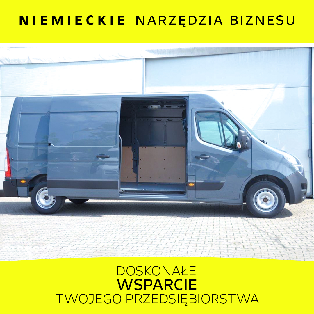 Opel Movano 2.3 BiTurbo 180KM MT6 S&S L3H2